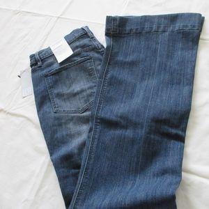NWT - LIZ CLAIBORNE Flare jeans - sz 8 - $48.00